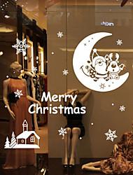 cheap -Christmas Wall Stickers  Romance / Still Life / Shapes Wall Stickers Plane Wall Stickers,vinyl 79*84.3cm