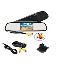 cheap -170°HD Parking Camera + Car Rearview Mirror LCD Display Monitor