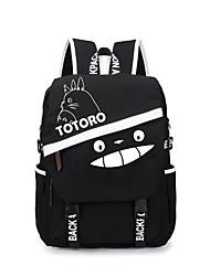 Bolsa Inspirado por Meu Vizinho Totoro Gato Anime Acessórios para Cosplay Bolsa mochila Lona Masculino Feminino