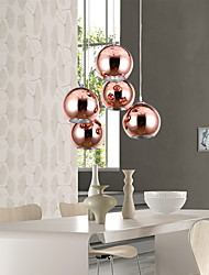 Pendant Light ,  Modern/Contemporary Globe Electroplated Feature for Mini Style Metal Living Room Bedroom Dining Room
