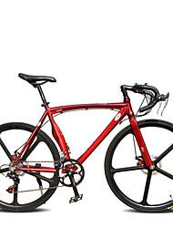 Недорогие -Комфорт велосипеды Дорожные велосипеды Велоспорт 14 Скорость 26 дюймы/700CC SHIMANO TX30 BB5 Двойной дисковый тормоз Без амортизации Без