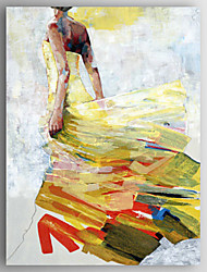 cheap -Oil Painting a Woman Wearing a Skirt Hand Painted Canvas with Stretched Framed