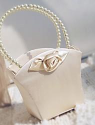 "Flower Basket Satin 9"" (23 cm) Faux Pearl 1 Wedding Ceremony Beautiful"