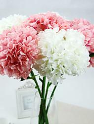 billige -Kunstige blomster 1 Afdeling Europæisk Stil Hortensiaer Bordblomst