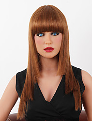 High Quality Capless Long Straight Mono Top  Human Hair Wigs 9 Colors to Choose