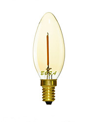 cheap -E12 E14 E26 E27 2200K-3000K 50-100Lm 110V 220V 1W 1LED Dimmable Retro Imitation Tungsten Filament LED Candle Light