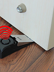 cheap -1Pc Door Stop Alarm Bell - Security Doorstop Wedge Siren Alert