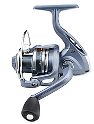 cheap -Fishing Reel Spinning Reel 5.5:1 Gear Ratio+6 Ball Bearings Hand Orientation Exchangable Left-handed Right-handed Sea Fishing Bait