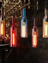 American Restaurant Hotel Bar Coffee Creative Personality Retro Glass Chandelier Lamp
