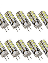 cheap -1W G4 LED Bi-pin Lights T 24 SMD 2835 100-150lm Warm White Cold White 2800-3000K/6000-6500K Decorative DC 12V