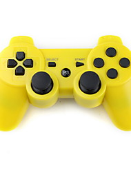 cheap -Rechargeable USB Wireless Controller for PS3 (Yellow)