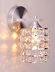 cheap -Modern Style Simplicity Wall Lights,K9 Crystal Shade Living Room Bedroom Hallway light Fixture
