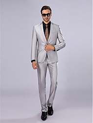 Suits Slim Fit Slim Notch Single Breasted One-button 2 Pieces Straight Flapped