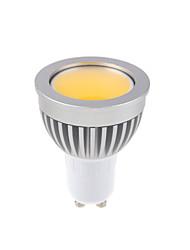 cheap -GU10 LED Spotlight MR16 1 COB 450lm Warm White Cold White 3000-3500K,6000-6500K Dimmable AC 220-240 AC 110-130V