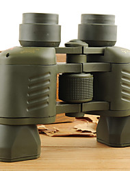 Недорогие -50 X 50 mm Бинокль Высокое разрешение Ночное видение Многослойное покрытие пластик