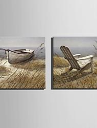 economico -Dipinta a mano Paesaggi Quadrato, Stile europeo Tela Hang-Dipinto ad olio Decorazioni per la casa Un Pannello