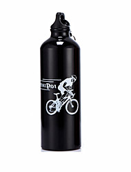 Aluminum Alloy 750ML Portable Outdoor Bike Bicycle Cycling Sports Drink Jug Water Bottle