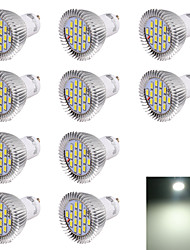 GU10 LED Spotlight R63 16 SMD 5630 560lm Cold White 6000K Decorative AC 220-240V