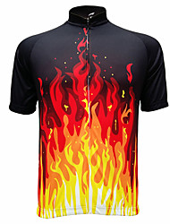cheap -GETMOVING Cycling Jersey Men's Women's Unisex Short Sleeves Bike Jersey Top Quick Dry Anatomic Design Ultraviolet Resistant Moisture