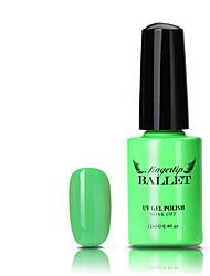 Недорогие -Кусачки для ногтей УФ-гель польский 12ML 1PC Soak Off блестит Классика Замочить от Долгое Повседневные Soak Off блестит Классика Высокое