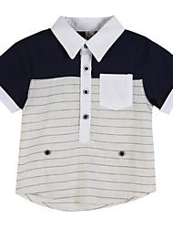 preiswerte -Jungen Hemd - Baumwolle Gestreift Sommer