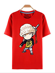 preiswerte -Inspiriert von One Piece Roronoa Zoro Anime Cosplay Kostüme Cosplay-T-Shirt Druck Kurzarm Top Für Herrn Damen