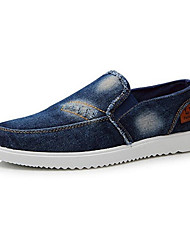 cheap -Men's Shoes Amir New Fashion Hot Sale Office/Casual Canvas Fashion Sneakers Navy Blue/Light Blue