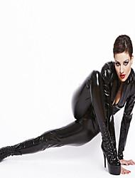 abordables -Cosplay Costume de Cosplay Costume de Soirée Homme Femme Halloween Carnaval Nouvel an Fête / Célébration Déguisement d'Halloween Noir
