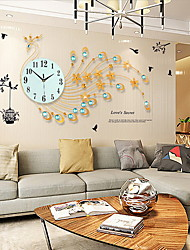 cheap -Modern/Contemporary Glass Metal Novelty Others Indoor,AA Wall Clock