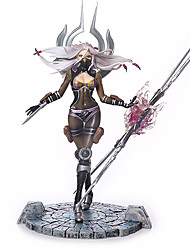 cheap -Anime Action Figures Inspired by LOL Cosplay PVC CM Model Toys Doll Toy