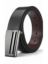 Italy Men's Genuine Leather Belt Business Waist Belts