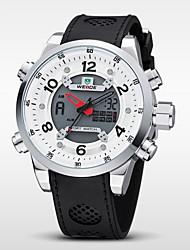 WEIDE Pánské Náramkové hodinky Digitální hodinky Křemenný Digitální Japonské QuartzLCD Kalendář Chronograf Voděodolné Hodinky s dvojitým