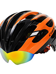 cheap -Cycling Helmet 9 Colors Mountain Road Bike Helmet Cascos Ciclismo Mtb Bicycle Helmet With Glasses&Helmet Cover