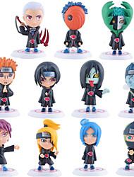 abordables -Las figuras de acción del anime Inspirado por Naruto Itachi Uchiha PVC CM Juegos de construcción muñeca de juguete