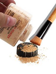 Недорогие -Пудры Кисти для макияжа Натуральный 1set Составить Лицо Сухие Комбинация Жирная Дышащий Отбеливание Покрытие косметический Товары для ухода за животными