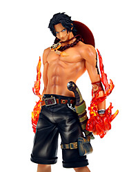 One Piece Portgas·D· Ace 25CM With Out The Base Assembly POP Doll Model Anime Action Figures