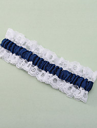 cheap -Polyester Lace Wedding Garter with Lace Wedding AccessoriesClassic Elegant Style