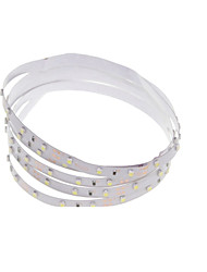 1M 4.5W 60x3528SMD RGB / White / Green / Blue / Yellow / Red / Cold White / Warm White LED Light Strips for Car (DC 12V)