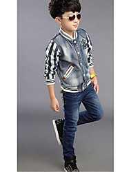 Boys' Casual/Daily Striped Jeans,Cotton Spring Fall Long Sleeve