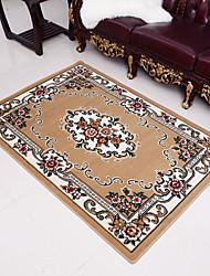 "Hot Sale Exquisite Designed Coral Velvet Material Colorful Mat W39"" x L59"""