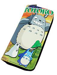 Borsa / Portafogli Ispirato da il mio vicino Totoro Gatto Anime Accessori Cosplay A portafoglio Verde Cuoio Uomo / Donna