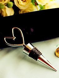 Bottiglia Favor Tappi bottiglia Spiaggia / Giardino / Asiatico / Floreale / Farfalla / Classico / Favola Non personalizzato Cromo Argento