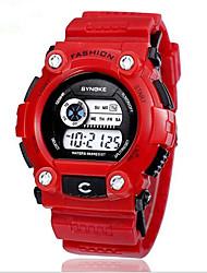 SYNOKE Kids' Wrist watch Digital Watch Quartz Digital LCD Calendar Chronograph Water Resistant / Water Proof Dual Time Zones Alarm