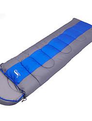 Schlafsack Rechteckiger Schlafsack Einzelbett(150 x 200 cm) 0~5~+12 Hohlbaumwolle 240g 190+30X75 Wandern CampingStaubdicht Winddicht warm