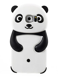 Недорогие -Кейс для Назначение SSamsung Galaxy Samsung Galaxy S7 Edge Защита от удара Кейс на заднюю панель 3D в мультяшном стиле Мягкий Силикон для S7 edge / S7 / S6