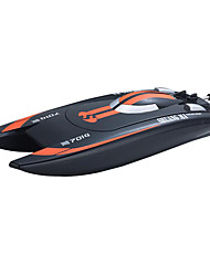 cheap -RC Boat Double Horse 7014 Speedboat Plastic ABS 3pcs Channels 25km/h KM/H