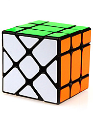cheap -Rubik's Cube YongJun Alien Fisher Cube 3*3*3 Smooth Speed Cube Magic Cube Puzzle Cube Professional Level Speed ABS Square New Year