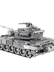 abordables -Coches de juguete Puzzles 3D Puzzle Puzzles de Metal Tanque 3D Aleación de Metal Metal 8 a 13 años