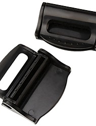 ziqiao 1 пара ремни автокресла зажим безопасности регулируемые пряжки стопора пластиковый зажим