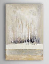ručně malované olejomalba abstraktní achromatic abstraktní s nataženém rámem 7 stěny arts®